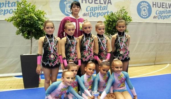 Campeonato de Andalucía y Copa Base con plata y casi bronce