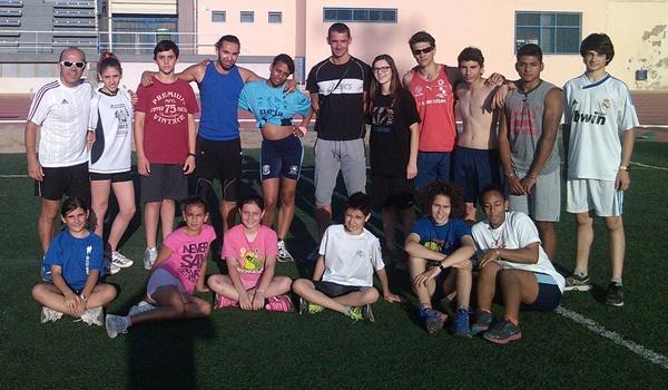 Olímpico en Pekín con Francia visita Almería con la Escuela Deportiva Municipal