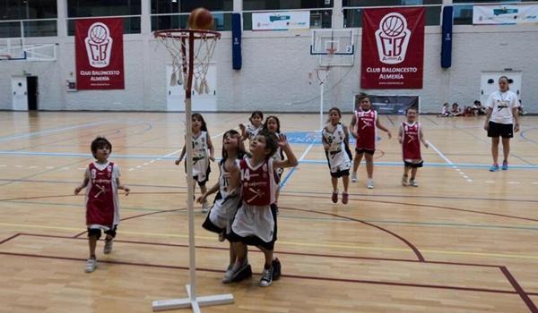 El CB Almería Cajamar organiza un torneo de baloncesto para los más pequeños