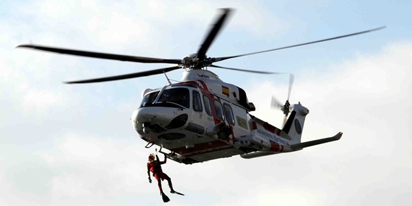 Rescatada la tripulación de un buque al sur de la costa de Almería