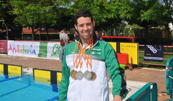 Campeonato de natación adaptada