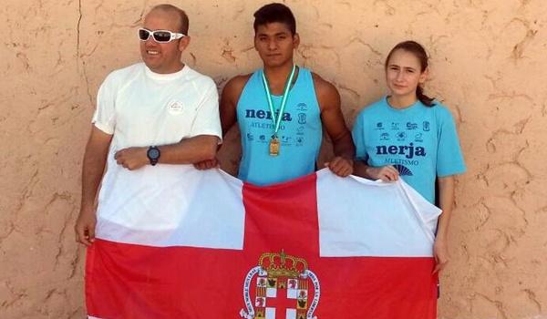 Atletas de Almería en el Campeonato de Andalucía