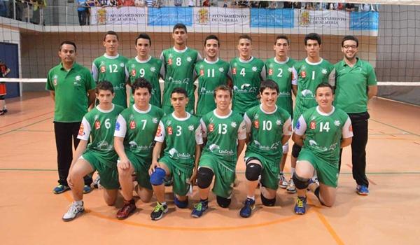 Voleibol cantera de Almería del campeón de la Superliga