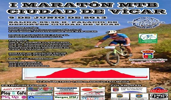 Bicicleta de montaña en la localidad de Almería