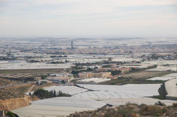 La provincia de Almería tiene 579 hectáreas de invernaderos más que el año pasado