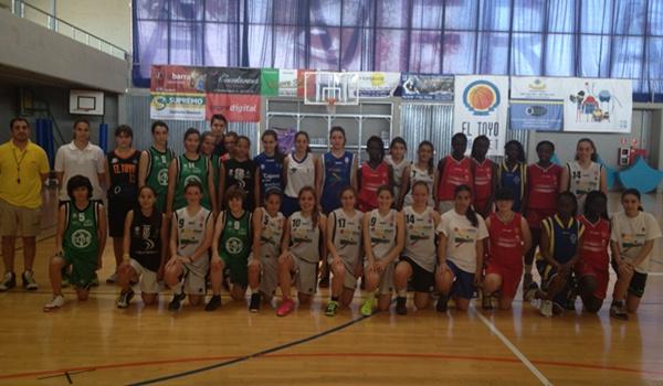 Concentraciones de baloncesto en la provincia