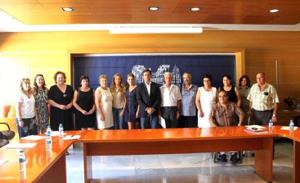 Firma convenio prensa y colectivos discapacidad