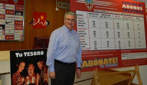 Precios para ver Primera División en la UD Almería