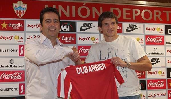 UD Almería presenta al jugador, nacido en Argentina, para Primera División