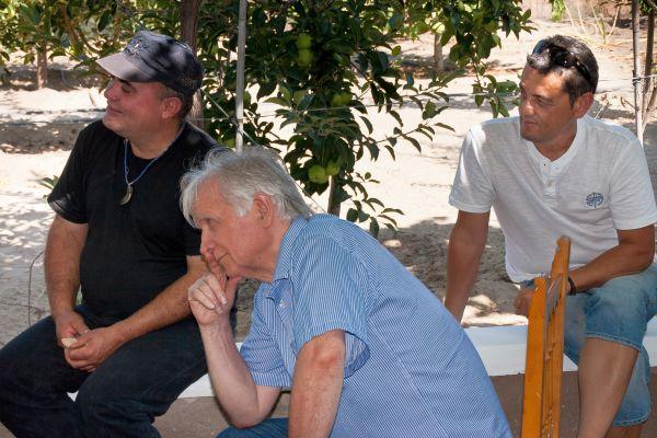 Foto JM MUÑOZ Mauro Chechi, J A Roche y Antonio Carbonell