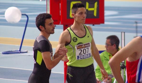 Atleta de Almería en el Campeonato de España de Atletismo en Alcobendas