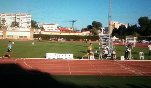 Campeón de Andalucía de Atletismo en los 800 metros lisos