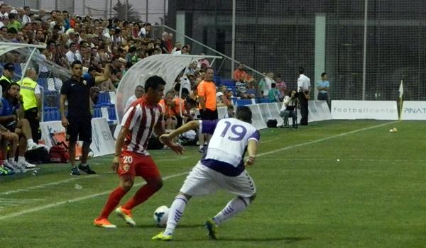 La UD Almería comienza el camino serio a Primera División