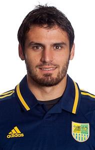 Jugador de Argentina que juega en Ucrania y que será cedido al Almería de la Primera de España