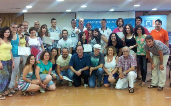 clausura cursos verano sede Roquetas