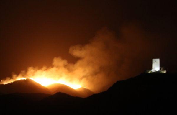 huercal overa incendio