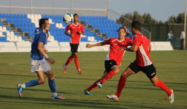 El delantero de la UD Almería en la concentración previa a la Liga BBVA