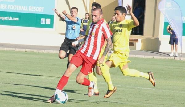 UD Almería jugando en La Manga Club ante el Submarino Amarillo