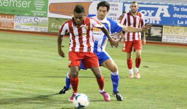 El Almería cierra concentración por la Región de Murcia antes de ir a Primera División