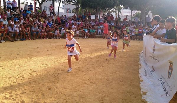 Atletismo con carreras populares en la provincia de Almería