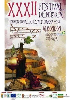 Cartel Festival Alpujarra