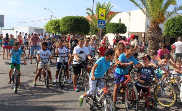 Dia bicicleta san agustin