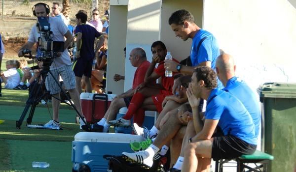 El Almería jugó en La Manga Club su tercer partido de pretemporada ante un Primera División