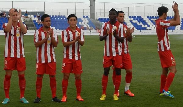 El Almería aporta internacionales a Argentino y a Burkina Fasso