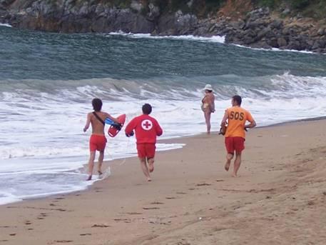 Playa socorristas