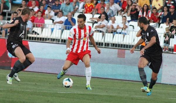 El Almería se prepara para recibir al FC Barcelona