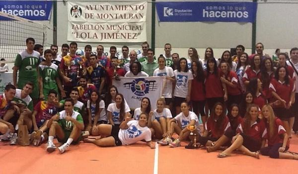 Voleibol en categoría masculina y femenina