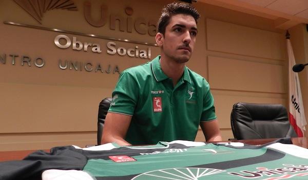 Jugador de voleibol que disputará la Superliga en Almería