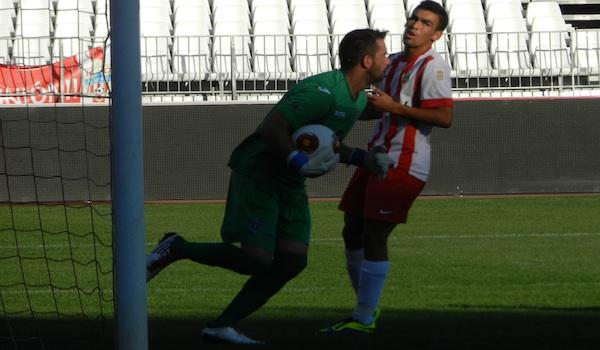 El Almería B sufre en Segunda División B