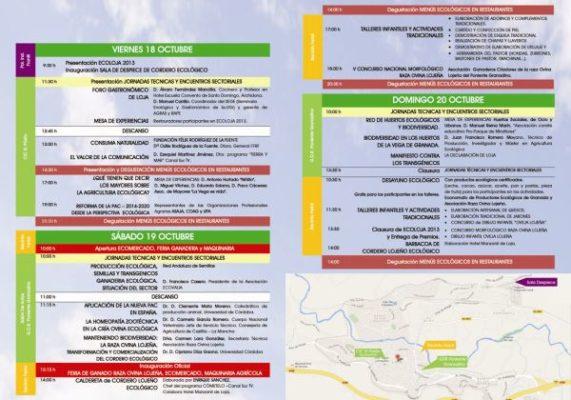 Ecoloja 2013 programa