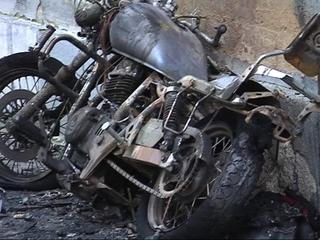 Incendio motos