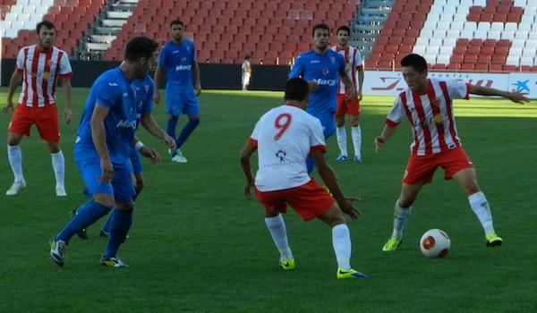 UD Almería en Liga BBVA y Segunda División B