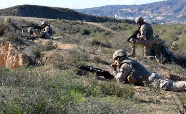 Muere de un disparo un legionario con base en Viator en unas maniobras con fuego real en Agost