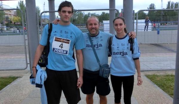Atletas de Almería en el campeonato de España