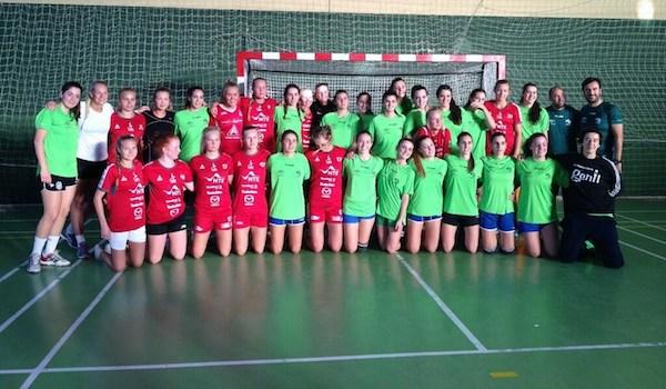 Selección de Andalucía con Almería
