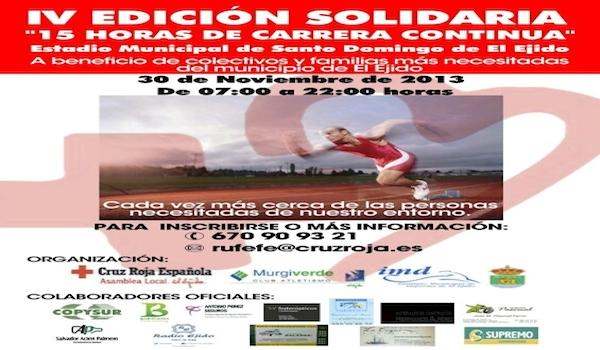 Atletismo popular con solidaridad