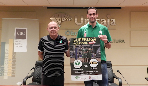 Unicaja Almería Superliga ante VP Madrid