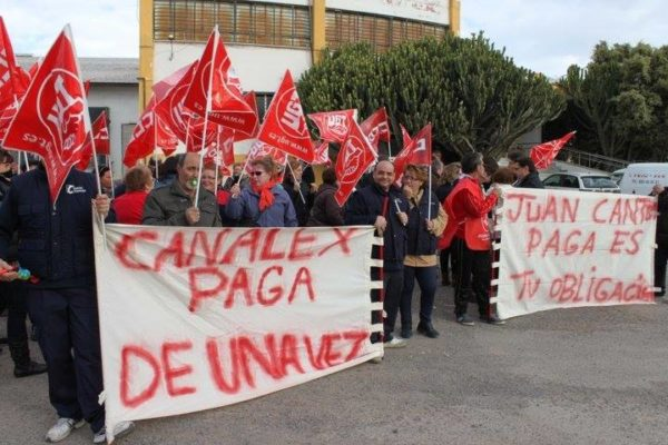 huelga canalex