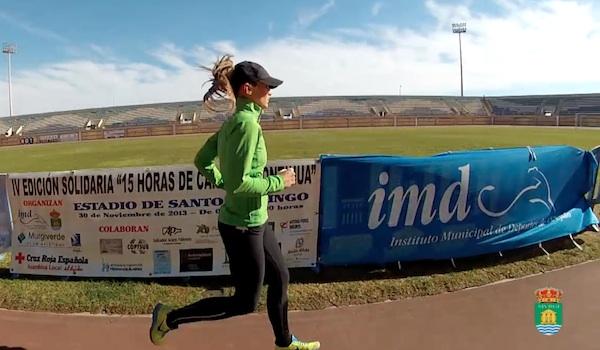 Atletismo solidario en Almería