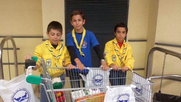 El Banco de Alimentos, presente en la Clásica Ciclista de Almería