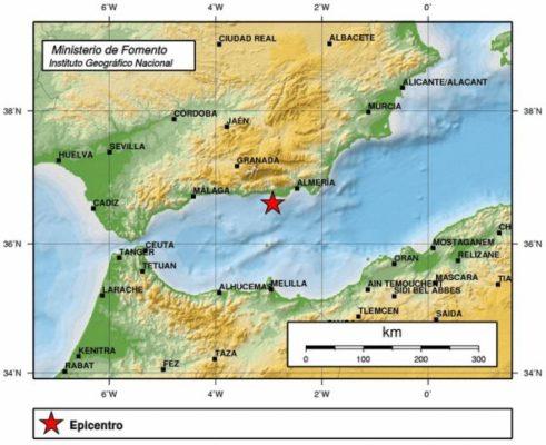 terremoto- Adra