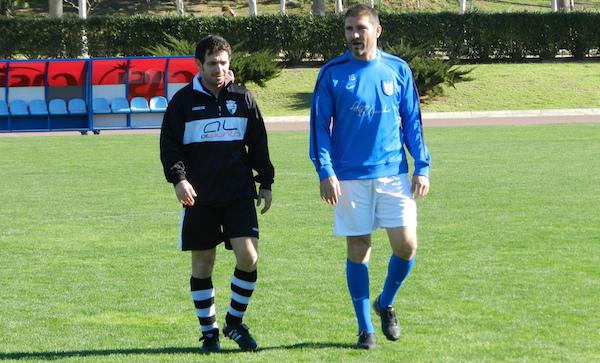 Héctor Berenguel y Torrecillas fueron dos de los goleadores del partido