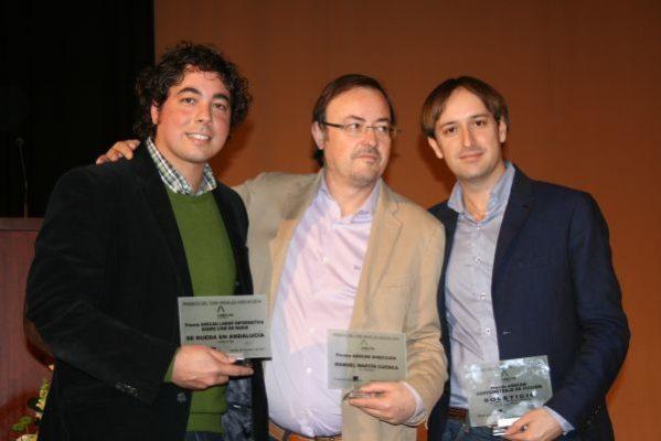 Juan Gabriel García, Manuel Martín Cuenca y Juan Francisco Viruega