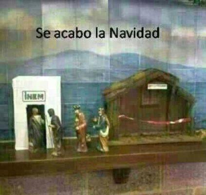 se acabó la navidad