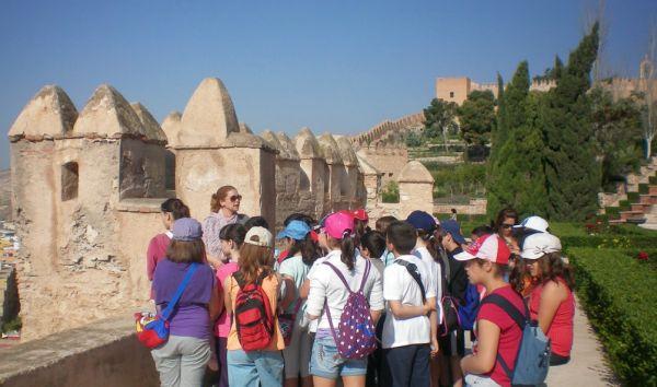 Alcazaba visitas