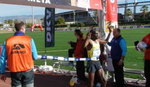 Atletismo ganador de Kenya
